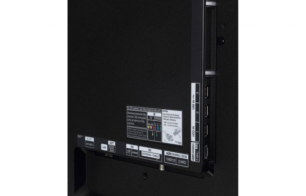 Rear Panel 60UB8200