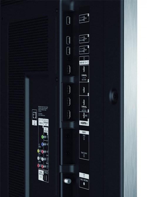 XBR800B rear panel