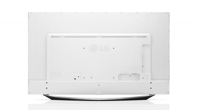 LG UF9500 rear panel