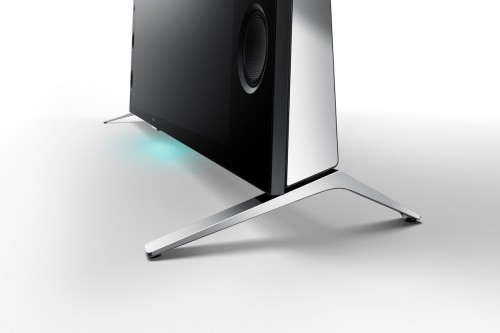 Sony XBR930C stand view