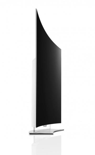 LG EG9600 side angle view