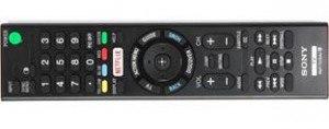 Sony XBR830C remote