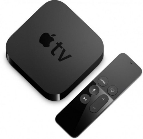 Apple TV 4 angle view