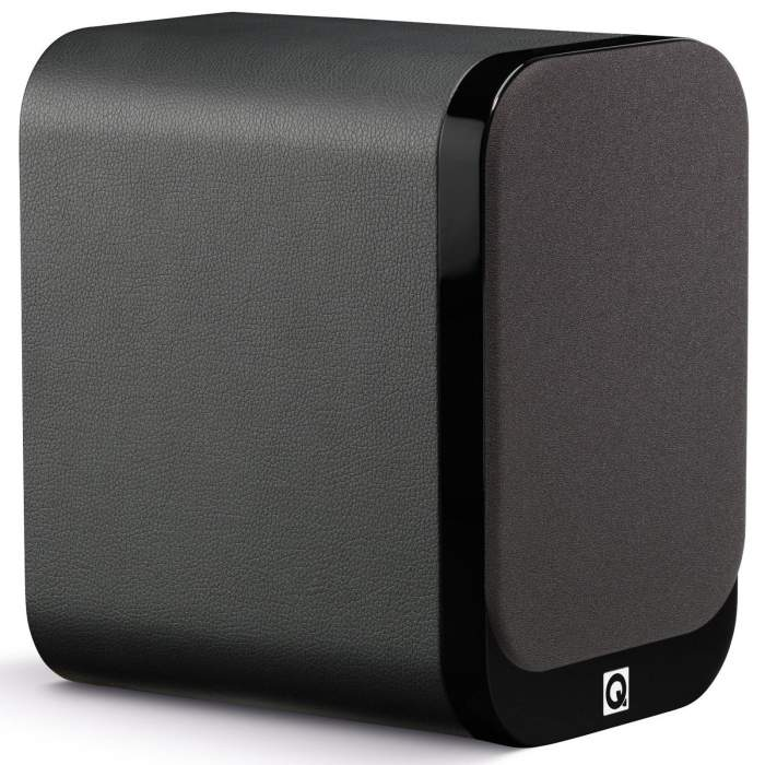 Q Acoustics 3020 w/ leather finish