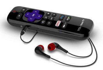 Roku enhanced remote