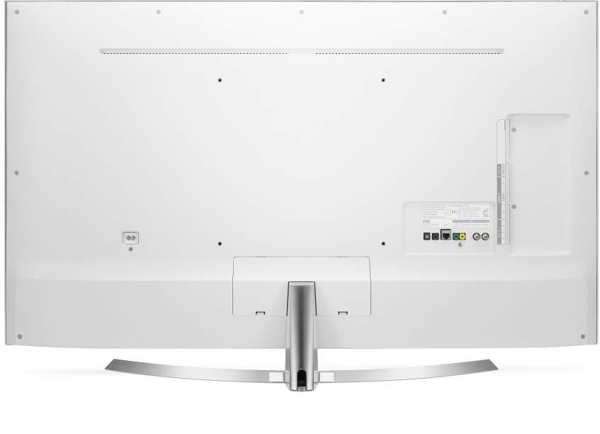 LG UH8500 Back Panel