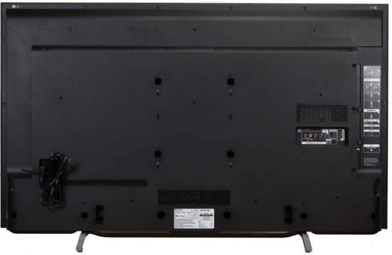 XBR65X750D Rear Panel