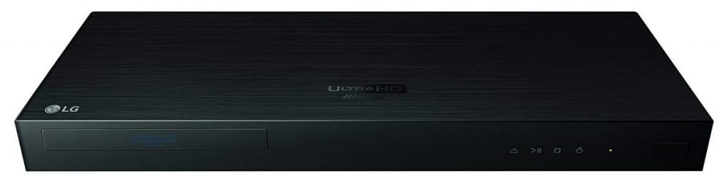 LG UP970 4K blu-ray Player