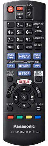 Panasonic DP-UB820-K Remote