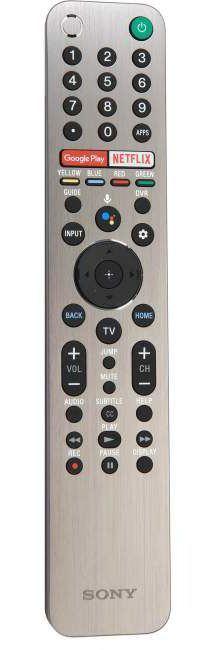 Sony X950G Remote