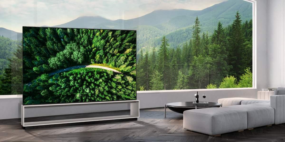 LG OLED Z9 8K TV