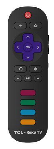 TCL standard Roku remote