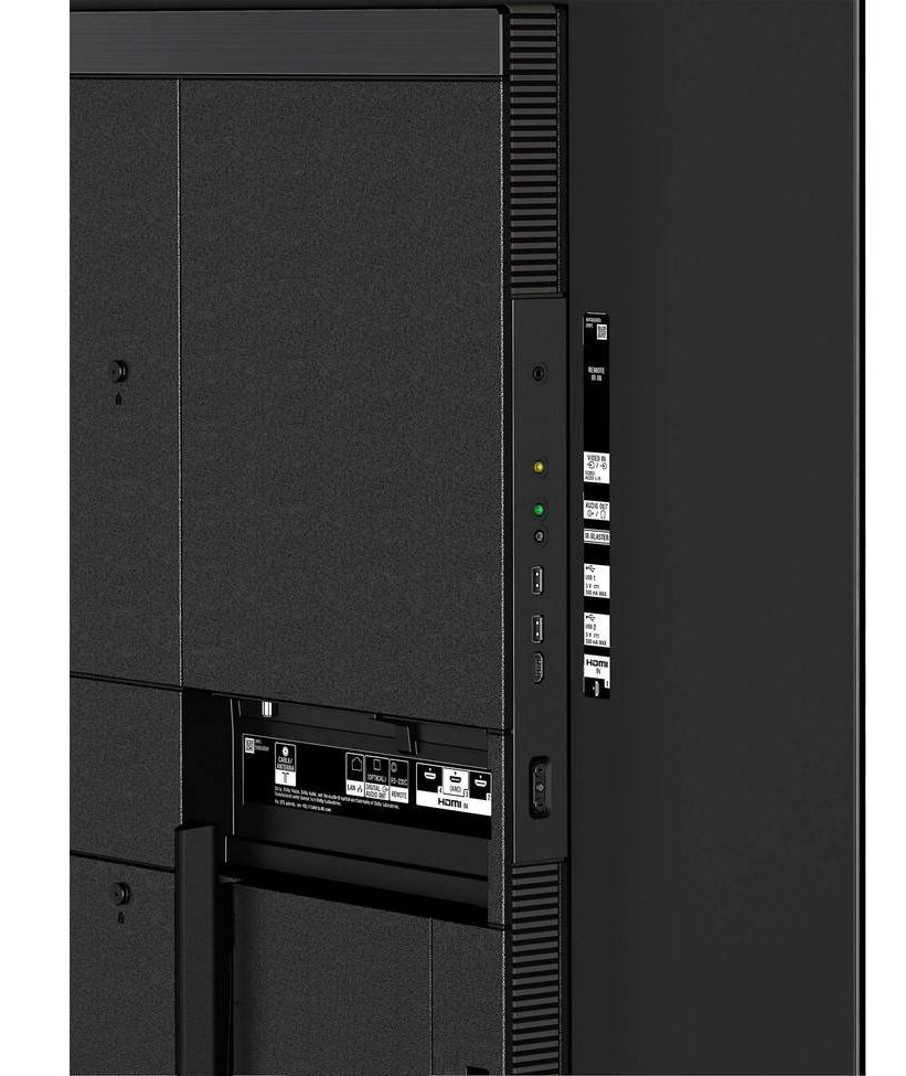 Sony A8G connection ports