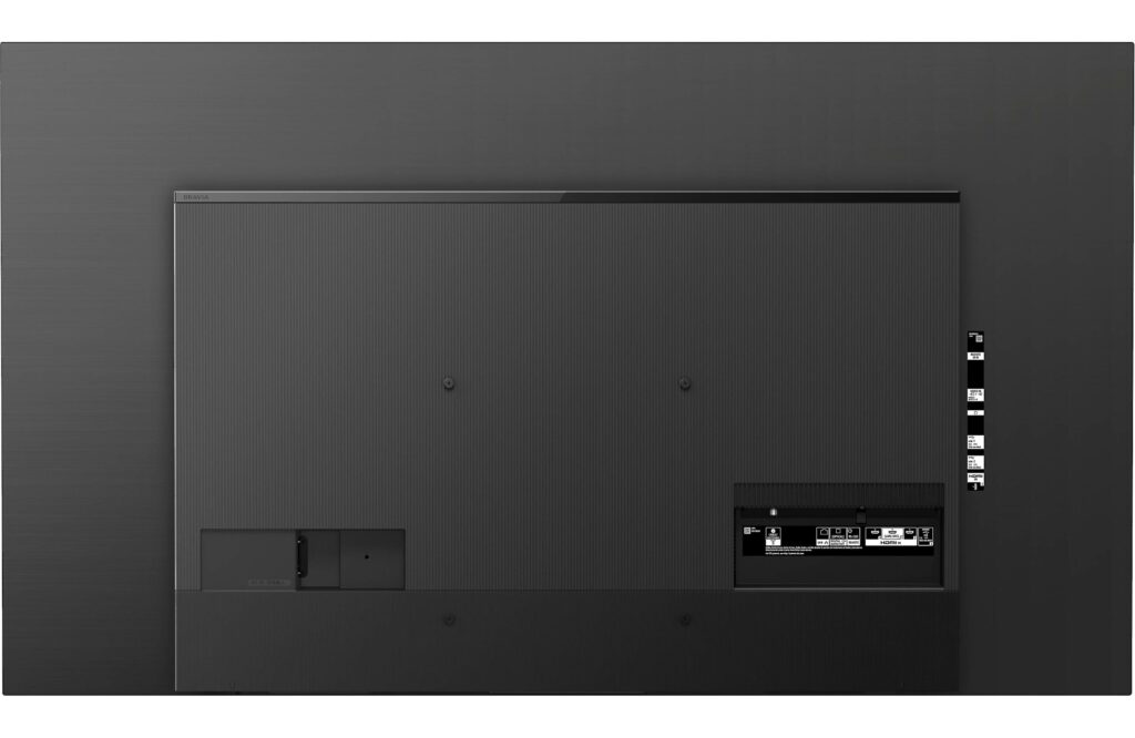 Sony A8H Rear Panel