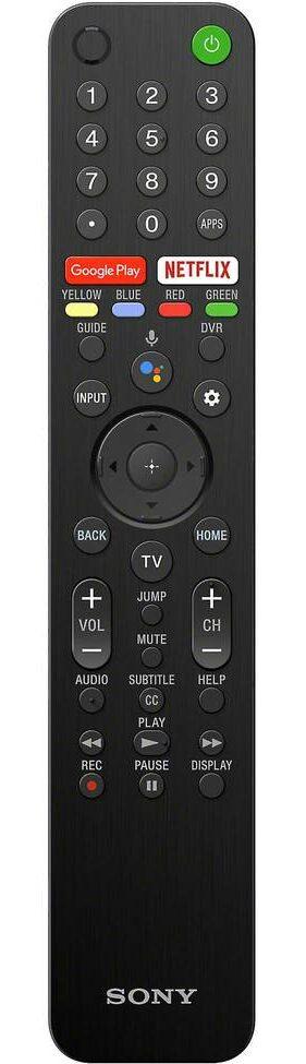 Sony A8H remote
