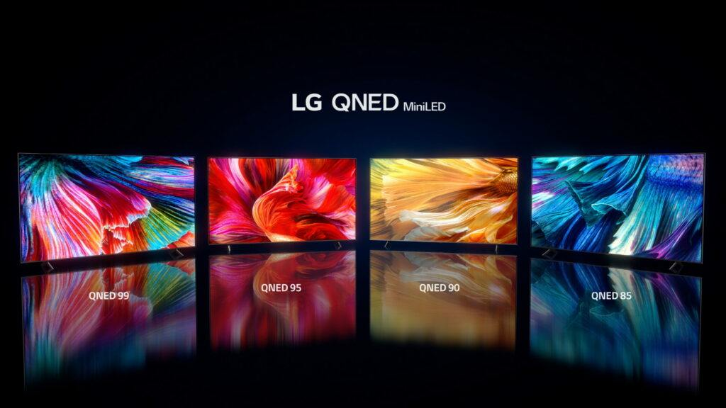 LG 2021 QNED Lineup