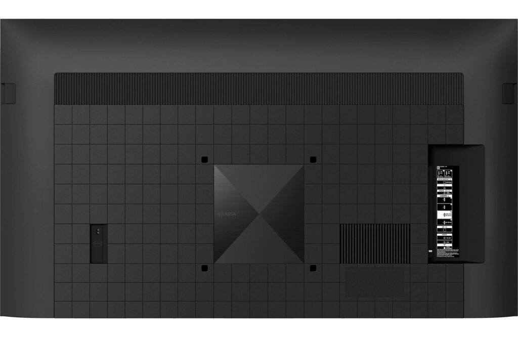 Sony X90J Rear Panel